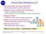 virtual data motivations 2