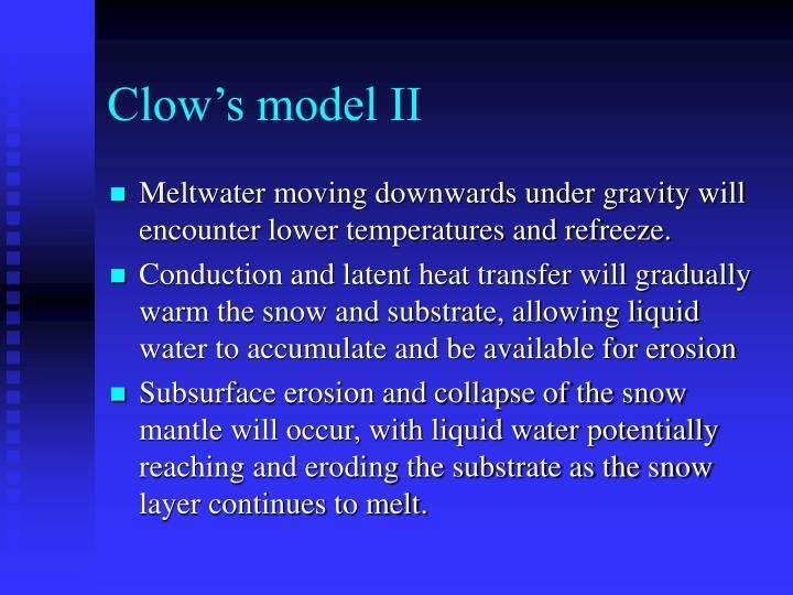Clow's model II