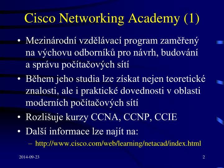 Cisco networking academy 1