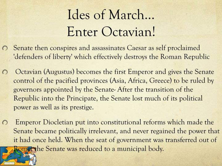 Ides of March…