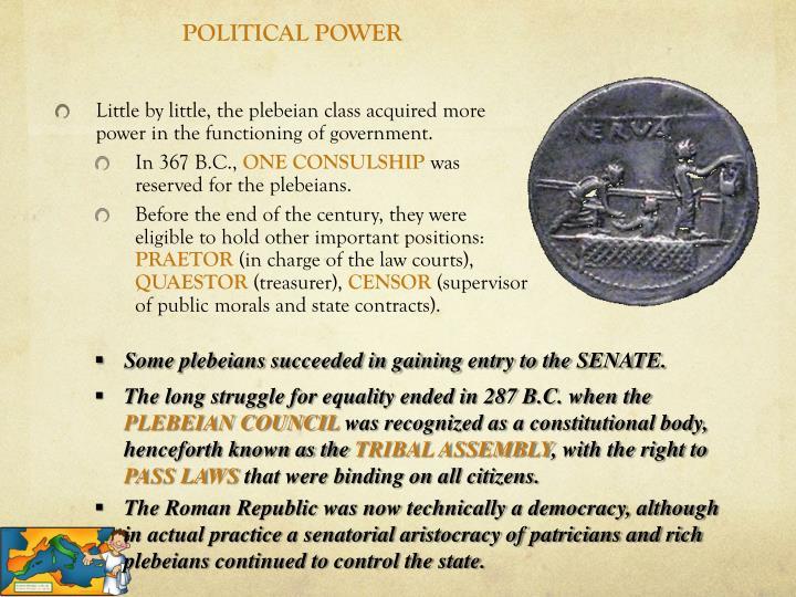 POLITICAL POWER