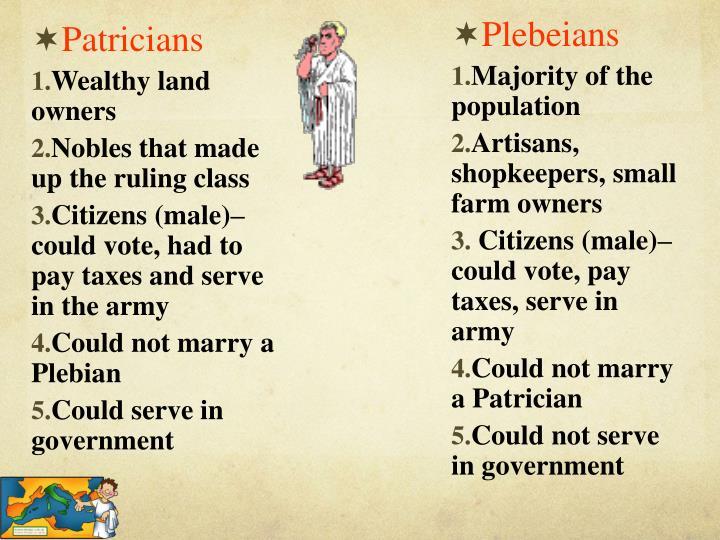 Plebeians