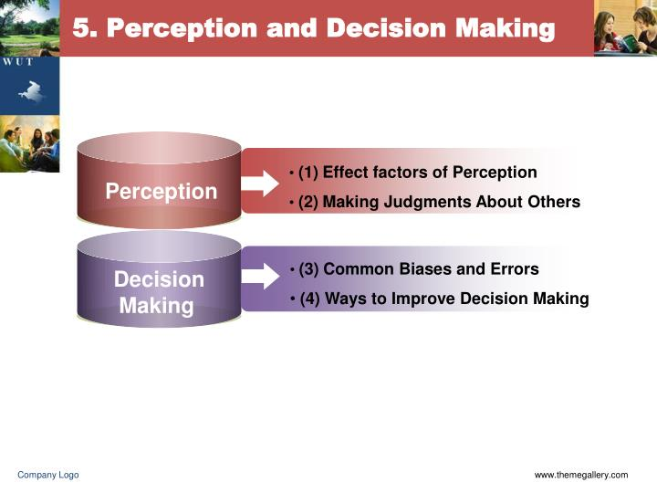 5 perception and decision making