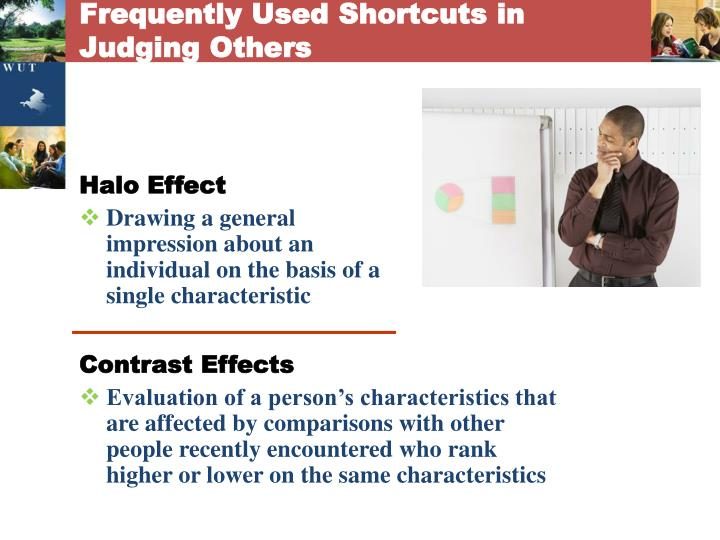 Frequently Used Shortcuts in Judging Others