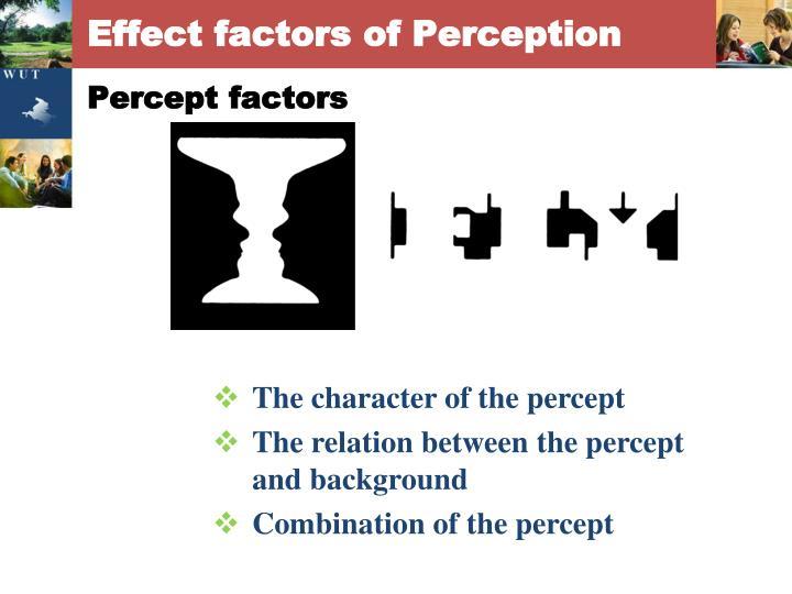 Percept factors