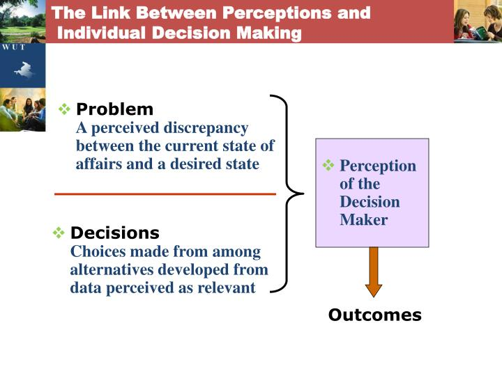 The Link Between Perceptions and