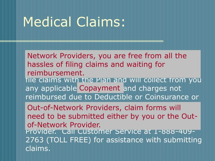 Medical Claims: