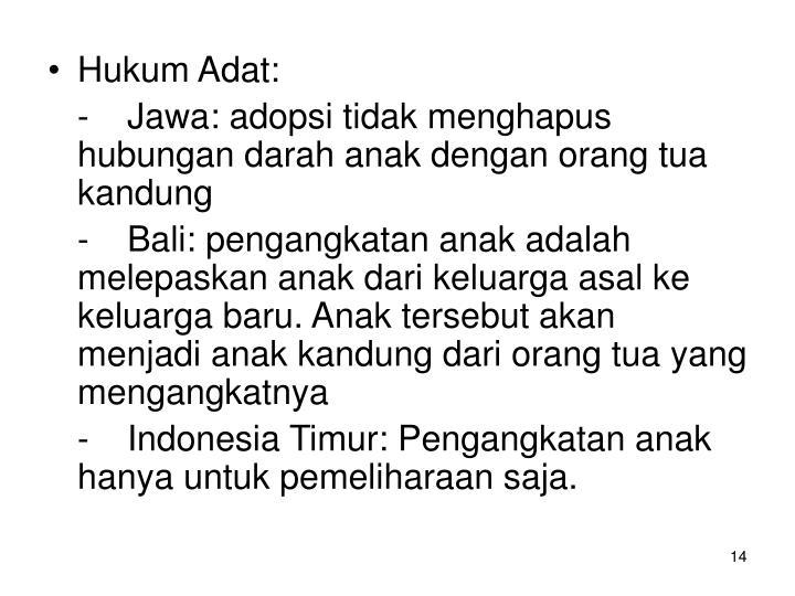 Hukum Adat: