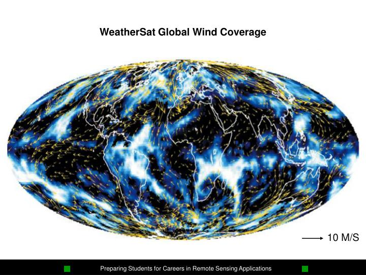 WeatherSat Global Wind Coverage