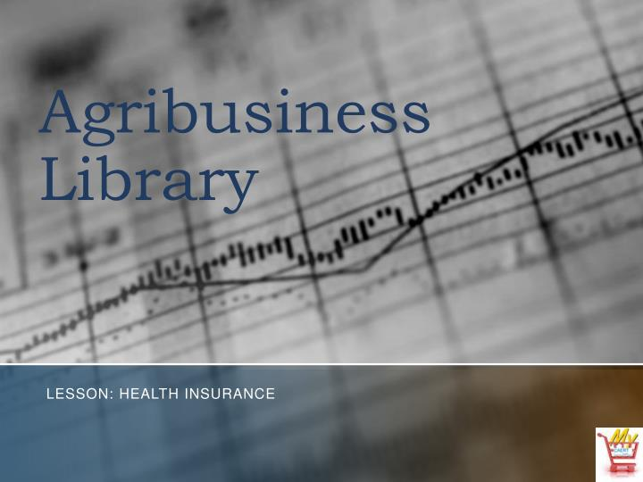 agribusiness library n.