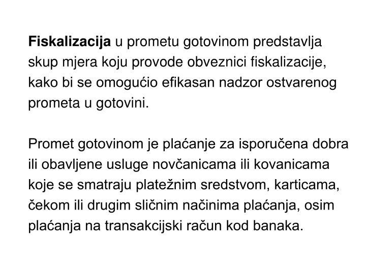 Fiskalizacija