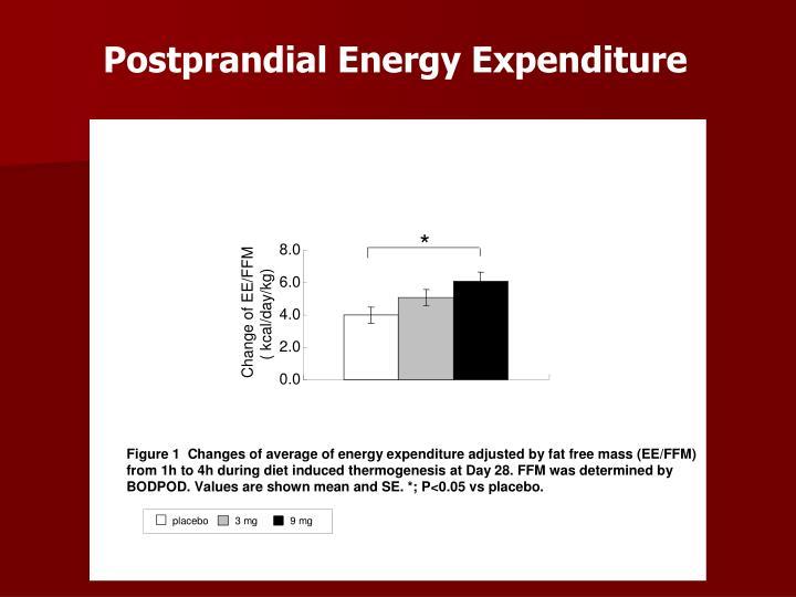 Postprandial Energy Expenditure