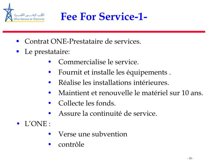 Fee For Service-1-