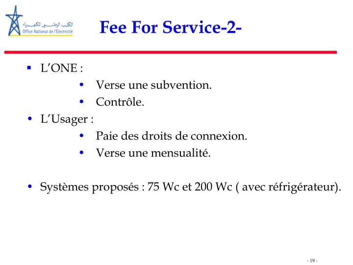 Fee For Service-2-