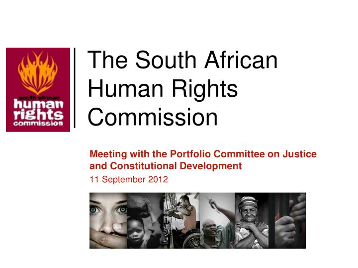 the south african human rights commission n.