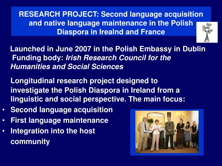 RESEARCH PROJECT: