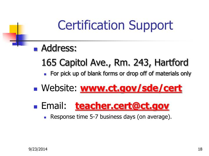 Ppt Orientation To Certification For Teacher Candidates Powerpoint