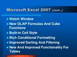 microsoft excel 2007 cont1