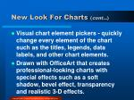 new look for charts cont