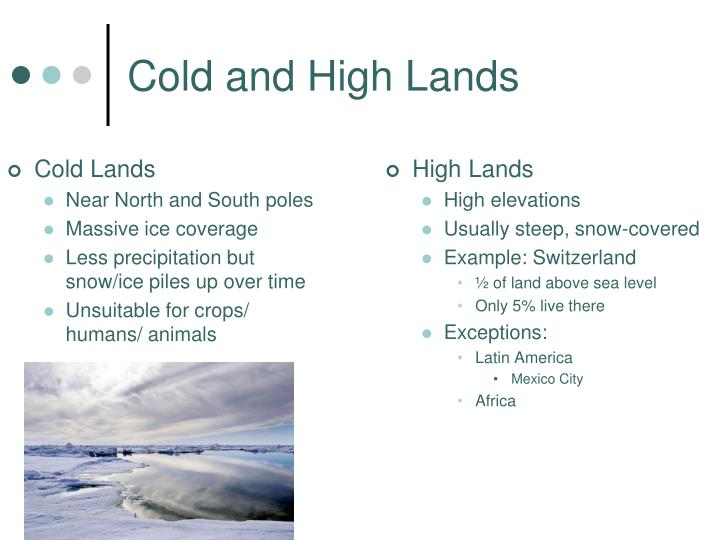 Cold and High Lands