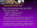 connecticut state test