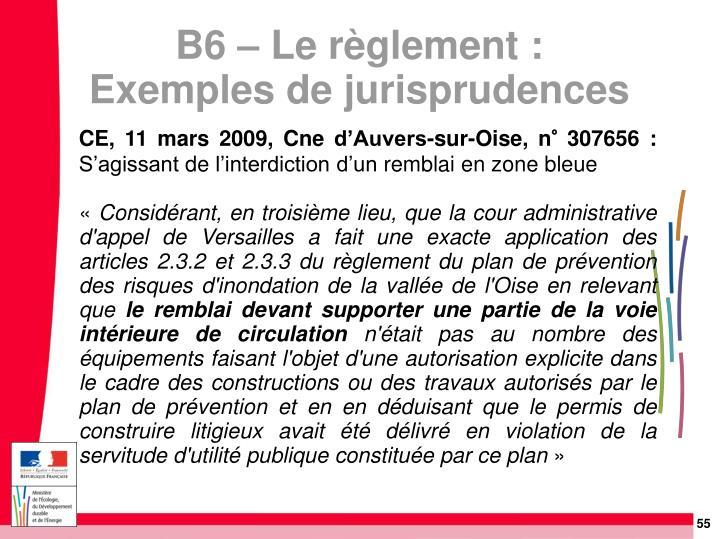 CE, 11 mars 2009, Cne d'Auvers-sur-Oise, n° 307656: