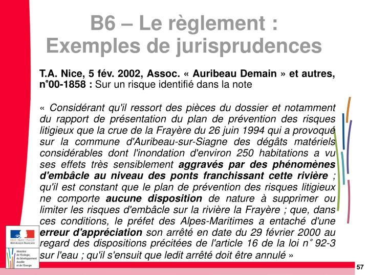 T.A. Nice, 5 fév. 2002, Assoc. « Auribeau Demain » et autres, n°00-1858: