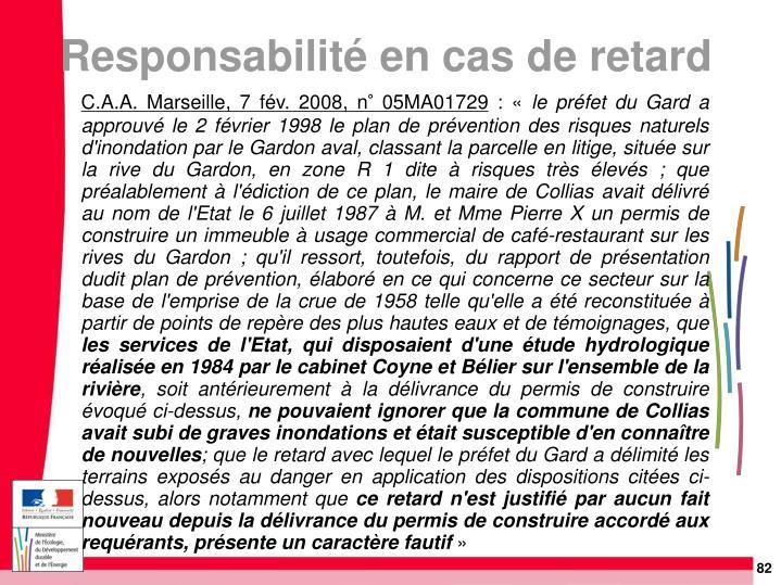 C.A.A. Marseille, 7 fév. 2008, n° 05MA01729