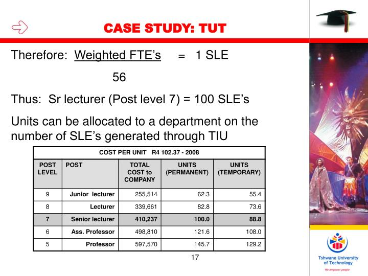 CASE STUDY: TUT