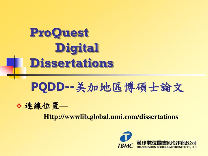 umi digital dissertation Umi digital dissertations - allow us to help with your essay or dissertation proposals, essays and academic papers of top quality #1 reliable and.
