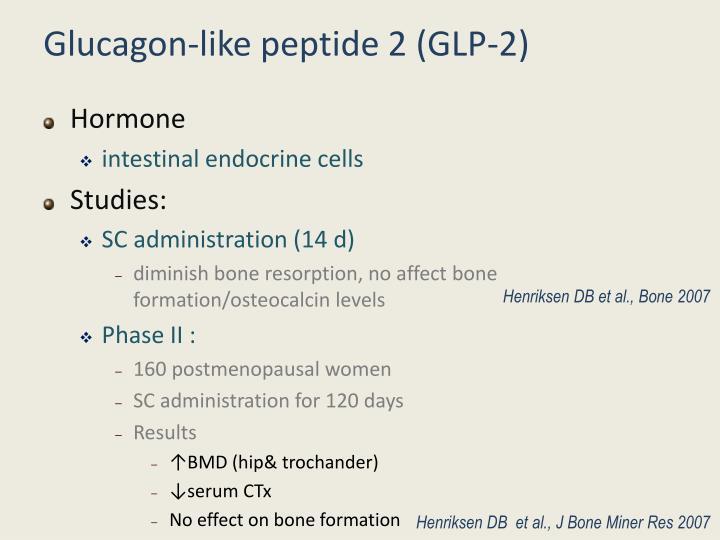 Glucagon-like peptide 2 (GLP-2)