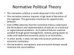 normative political theory2