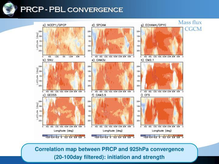 PRCP - PBL convergence