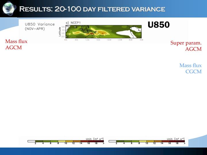 Results: 20-100 day filtered variance