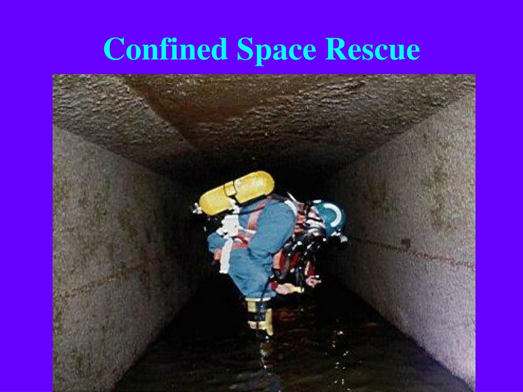 Confined spaces training powerpoint by osha #21333638974.