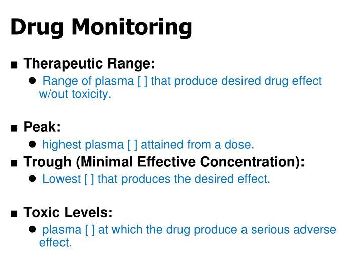 Drug Monitoring
