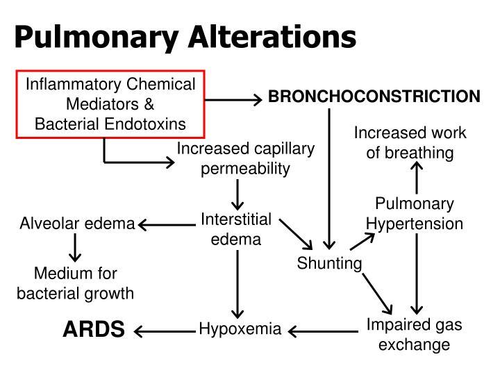 Pulmonary Alterations