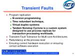 transient faults