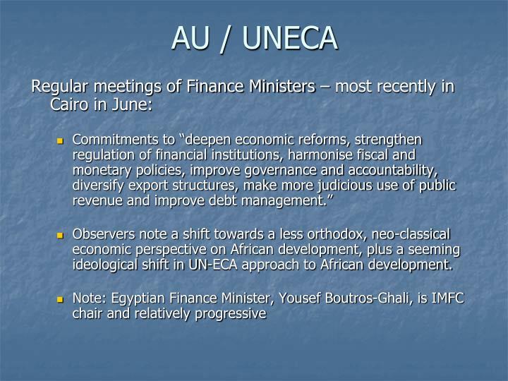 AU / UNECA