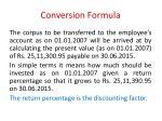 conversion formula4