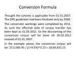 conversion formula6
