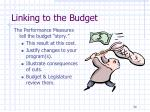 linking to the budget1