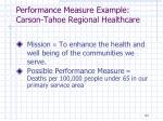 performance measure example carson tahoe regional healthcare1