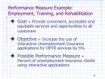 performance measure example employment training and rehabilitation1