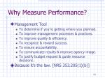 why measure performance1