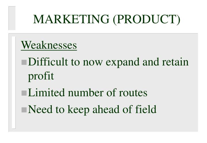 MARKETING (PRODUCT)