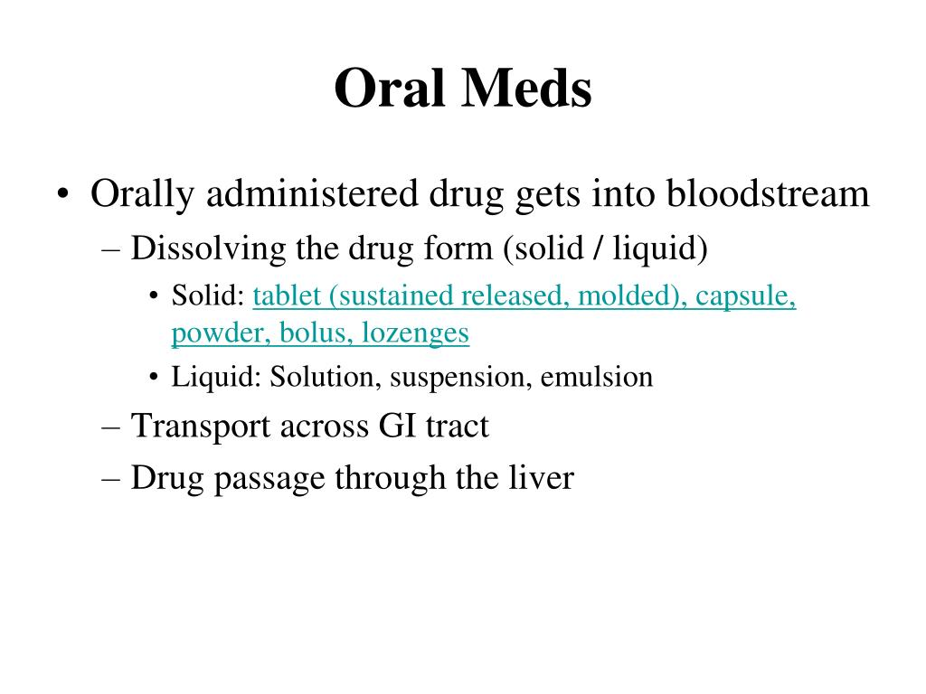 PPT - Principles and Methods of Drug Administration