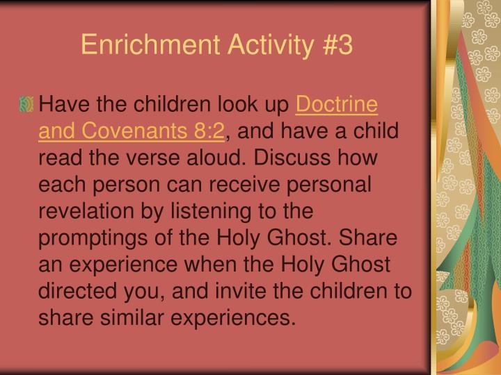 Enrichment Activity #3