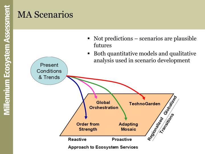MA Scenarios