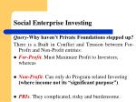 social enterprise investing1